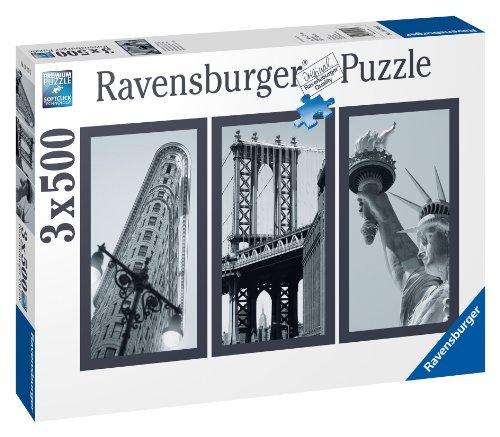 Ravensburger Impressions of New York 500 Piece Puzzle