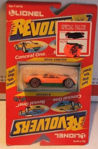 Lionel Revolvers 1989 Die Cast Car Flip Monster/turbo Whirler