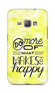 AMEZ do more of what makes you happy Back Cover For Samsung Galaxy J1 (2016 EDITION)