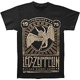 Led Zeppelin Men's Madison Square Garden T-shirt Large Black