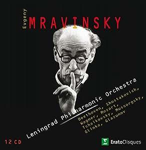 Mravinsky dirige l'orchestre philharmonique de Leningrad