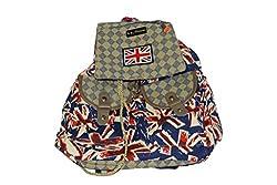 Maimona Handbags College Bags UK Flag Trend