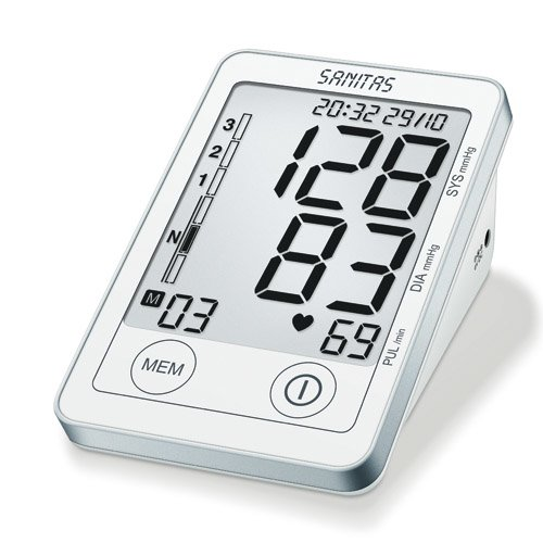 Sanitas SBM 50 Blutdruckmessgerät Oberarm, Weiß-Silber thumbnail