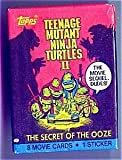 Topps Teenage Mutant Ninja Turtles II - The Secret of The Ooze Trading Card Pack - 8 movie cards per pack