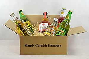 Simply Cornish Hampers Cider Hamper In A Standard Carton