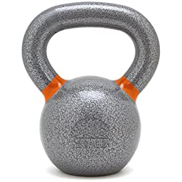 New Onefitwonder Solid Cast Iron Kettlebell Weight for Crossfit Training Strength Training Gym Exercise Superior Grip 10 Kg / 22 Lb