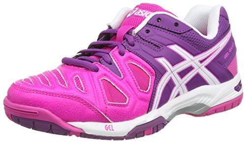 Asics Gel-Game 5 Scarpe Sportive, Donna, Rosa (Pink Glow/White/Grape 3501), 37