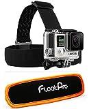 FloatPro 2-in-1 Head Strap Mount + Detachable Floaty for GoPro. Must-Have Accessories Floating Headstrap. 1-Year Warranty.