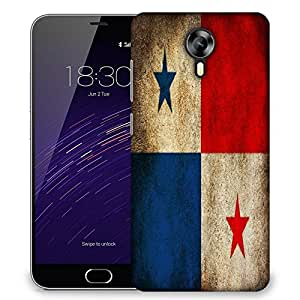 Snoogg Panama Designer Protective Phone Back Case Cover For Meizu M2