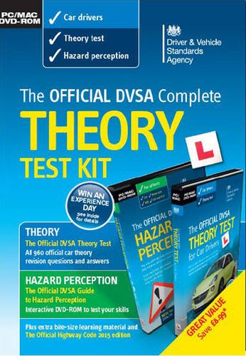 DVSA Official 2016 Complete Theory Test Kit DVD-ROMs