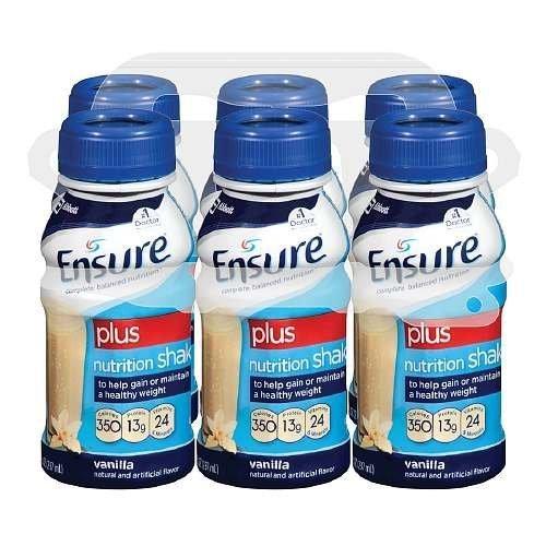 ensure-plus-ready-to-drink-nutrition-shake-8-oz-6-ea-vanilla-1-pack-by-abbott