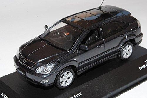 toyota-harrier-hybrid-baugleich-lexus-rx400h-dunkel-grau-2003-2009-1-43-j-collection-modell-auto
