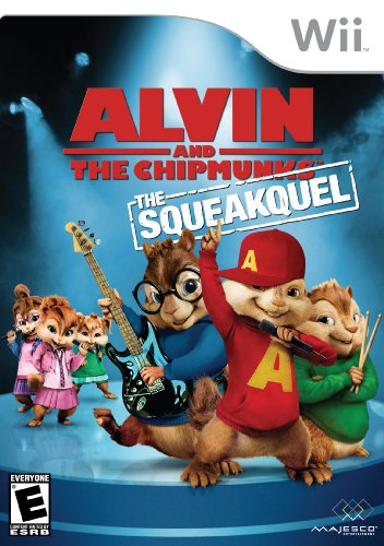 Alvin and the Chipmunks: The Squeakquel - Nintendo Wii - 1