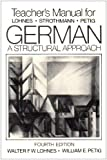 German: Tchrs': A Structural Approach (0393954706) by Lohnes, Walter F.W.