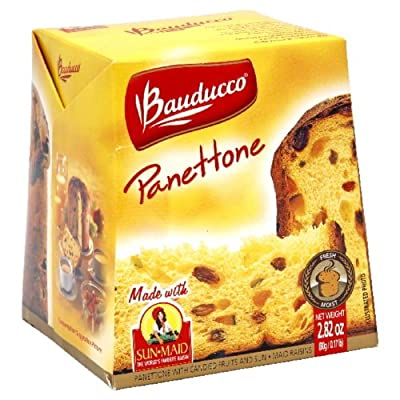 Bauduccor Mini Panettone , 2.82-Ounce Boxes (Pack of 24) from Bauduccor