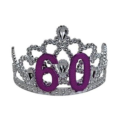 Big Mouth Toys 60th Birthday Silver Tiara