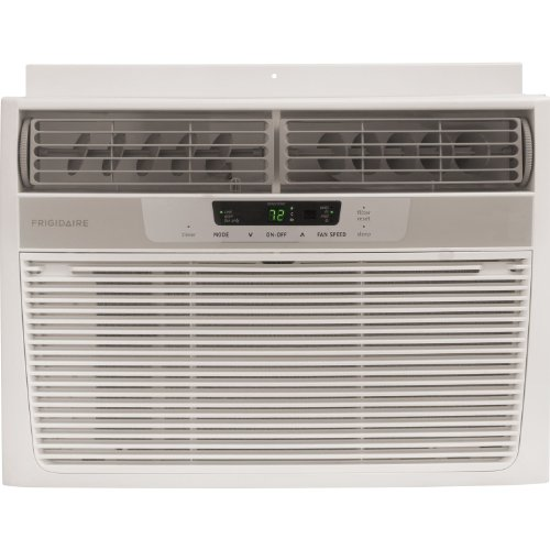 Frigidaire FRA083AT7 8,000 BTU 115-Volt Window-Mounted Mini-Thick Air Conditioner with Full-Function Remote Control