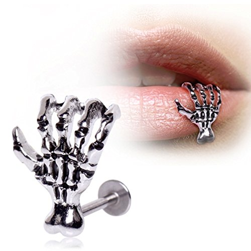 Surgical Steel Zombie Claw Labret