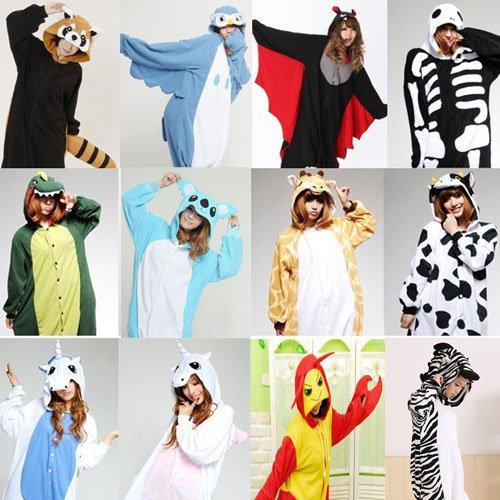 Samgu-animal Pyjama Pajamas Onesie Cospaly Party Fleece Costume Deguisement Adulte Unisexe