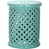 Light Blue Isola Garden Patio Stool