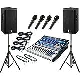 PreSonus Studiolive 16 0 2   Yamaha DSR115 PA Package