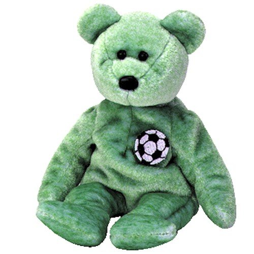 TY Beanie Baby - KICKS the Soccer Bear