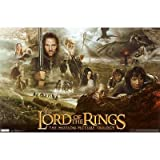 Poster Revolution Lord Of The Rings Trilogy Movie Maxi Poster Print - 56x86 Cm