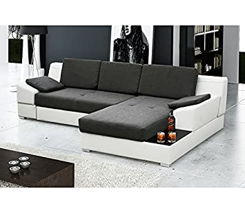 MARTIN Corner Sofa Bed * Brand New * Modern Design* Choice of fabric and faux leather * Choice corner position