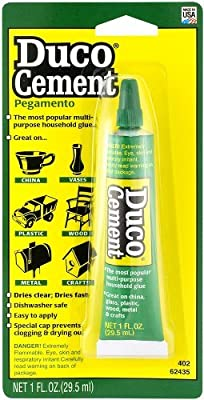 ITW Devcon 62435 Duco Cement Multi-Purpose Household Glue 1-Ounce