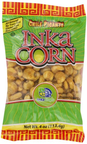Inka Corn, Chili Picante, 4 Ounce (Pack of 6) (Corn Nuts Cheddar compare prices)