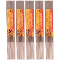 KTR Bamboo Atharv Incense Sticks (48 Cm, Brown, Pack Of 5)