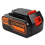 Enegitech 20V MAX 4.0Ah Battery for Black & Decker LBXR20-OPE LB20 LBX20 LB2X4020