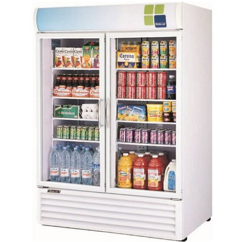 Turbo Air Tgm-50Rs 50 Cu. Ft. Two Section Refrigerated Merchandiser front-613108