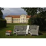 Diamond Garden Loungegruppe Granada mit Loungetisch 6 Teilig