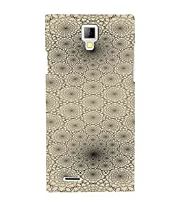 PrintVisa Modern Art Web Pattern 3D Hard Polycarbonate Designer Back Case Cover for Micromax Canvas Xpress A99