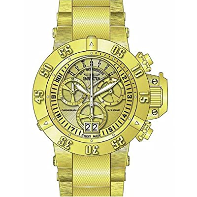 Invicta Men's 17615 Subaqua Analog Display Swiss Quartz Gold Watch