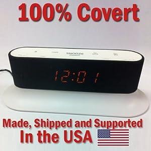 100 covert secureguard hd 720p onn alarm clock radio spy camera covert hidden nanny camera. Black Bedroom Furniture Sets. Home Design Ideas