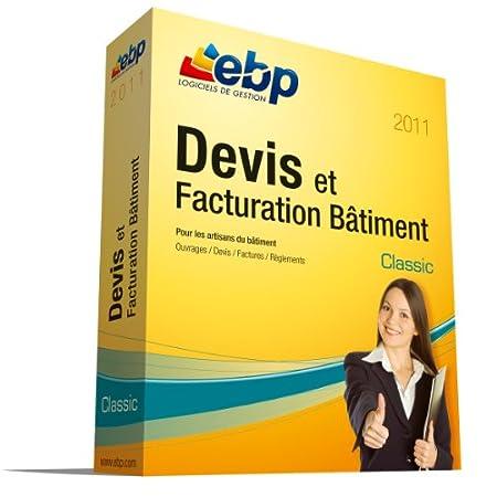 EBP Devis et Facturation Bâtiment Classic 2011