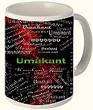 Umakant (Husband Of Uma ( Lord Shiva)) Printed All over Personalized!! Fun Coffee 12 OZ. Mug. Microwave and dishwasher safe.
