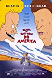 Beavis and Butthead Do America Poster Movie 11x17 Mike Judge Robert Stack Cloris Leachman Demi Moore