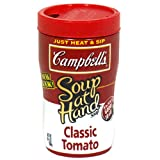 51TkDSz7t2L. SL160  Campbells Soup at Hand, Classic Tomato, 10.75 Ounce Microwavable Cups (Pack of 8)