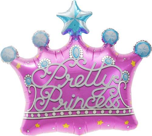 Pretty Princess Crown Helium Foil Balloon - 25 inch