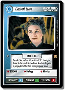 Star Trek Ccg 1e Roa Rules Of Acquisition Elizabeth Lense 66r