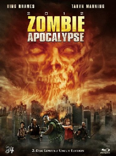 2012 Zombie Apocalypse - Mediabook (+ DVD) (Limited Uncut Edition) [Blu-ray] [Limited Edition]
