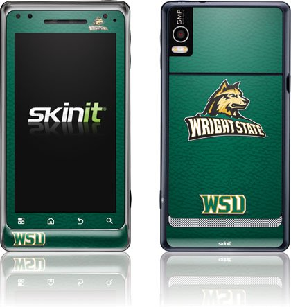 Wright State University - Wright State - Motorola Droid 2 - Skinit Skin butterfly green and black butterfly motorola droid 2 skinit skin