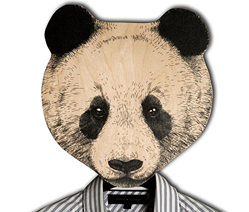 Unique hook - hanger - mask - Panda a decorative article for your creative home or office