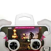 iPhoneスマートフォンにリアルボタンを! タッチパネル用ゲームボタン Donyaダイレクト DN-SPACC-MGCP