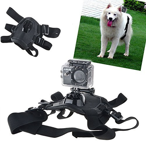 Aodoor Chest and Back Mount Dog or Pet Harness for Gopro Hero 4/ Go Pro 3+/3/2/1 Action Camera Sjcam Sj5000+ Sj4000 Sport Cam Sony Camcorder (Dog Water Harness compare prices)