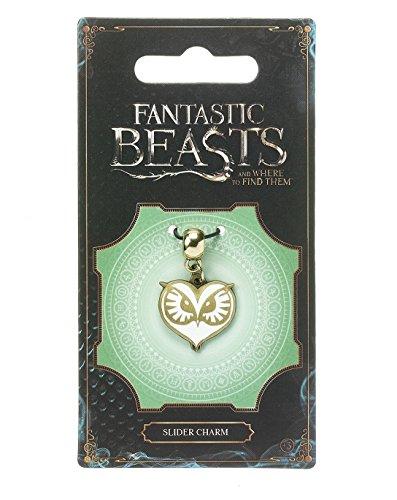 Fantastic Beasts Owl Face Slider Charm