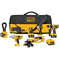 DEWALT DCK675L 18-Volt Lithium-Ion 6-Tool Cordless Combo Kit from DEWALT
